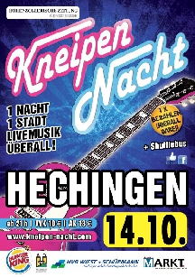Poster: Kneipennacht Hechingen