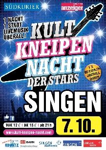 Poster: Kultnacht Singen