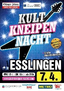 Poster: Kultnacht Esslingen