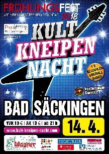Poster: Kultnacht Bad Säckingen