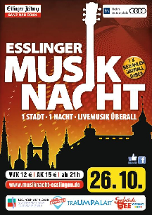 Poster: Esslinger Musiknacht